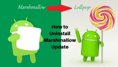 How to Uninstall Marshmallow Update