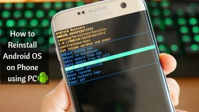 How to Reinstall Android OS on Phone using PC1