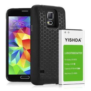 YISHDA New Battery for Galaxy S5