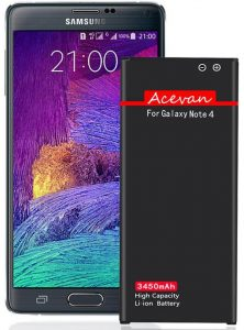 Acevan Note 4 Li-ion Replacement Battery