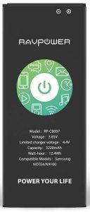 RAVPower Galaxy Note 4 Li-Ion Battery