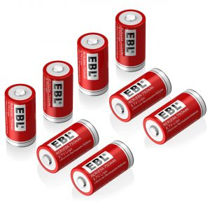 EBL RCR123A Arlo Compatible Rechargeable Batteries