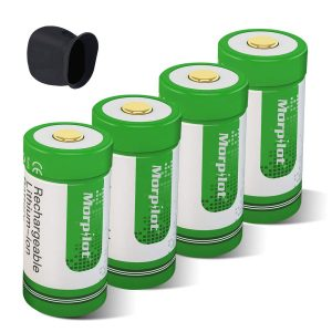 Morpilot RCR123A Rechargeable Arlo Camera Batteries
