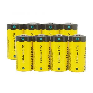 Murllen CR123A Rechargeable Arlo Camera Batteries