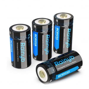 Rainyb RCR123A Rechargeable Batteries for Arlo Camera