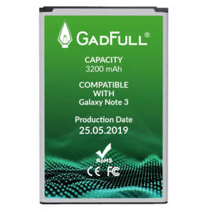 GadFull Battery for Note 3