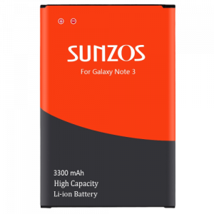 SUNZOS Galaxy Note 3 Battery