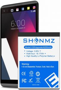 Shenmz replacement battery for LG V20